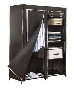 Kennedy Home Collection Portable Closet Black - - Garment Racks - Clothing & Closet Storage - Storage & Organization Closet Storage, Closet Organization, Bag Storage, Locker Storage, Organization Ideas, Storage Ideas, Tic Tac Toe, Extra Storage Space, Storage Spaces
