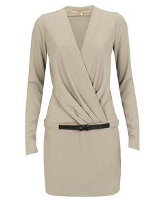 Elegant beige dress by Silvian Heach.