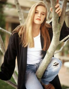 Alicia Silverstone. My first idol.                                                                                                                                                                                 More
