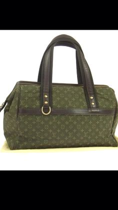 Louis Vuitton Josephine GM in mini monogram olive green