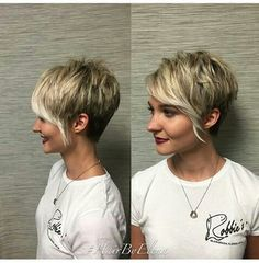 Love the bangs #pixiecut