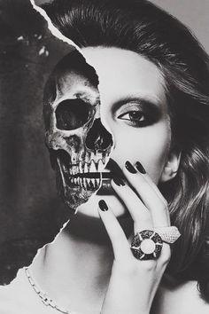 halloween makeup just got beautiful
