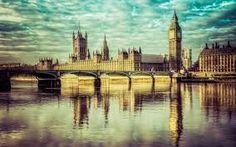 Londyn, Most, Rzeka, Zabytek, Big Ben Tower Bridge London, Tower Of London, London City, London Pictures, London Photos, London Icons, Large Art Prints, London Free, Popular Photography