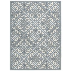 Isora Indoor/Outdoor Rug in Aqua