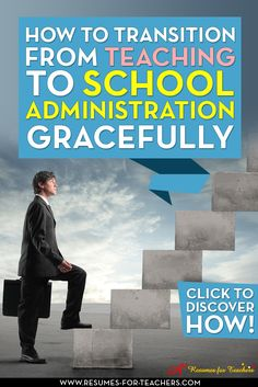 If you find yourself dreaming of an administrator's office instead of the current classroom you share with your students, it may be time to start thinking about taking a step to successful transition from the classroom to administration. http://resumes-for-teachers.com/blog/administrator/moving-from-the-classroom-to-administration/