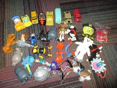 LARGE 29 PIECE LOT OF MCDONALD HAPPY MEAL TOYS, DISNEY CARS,TY,FUR REAL,SOME NIP #McDonalds