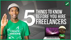 Hiring a Freelancer can be confusing if you've never done it before. If you're going to hire a freelancer you need to know how to find a freelancer in the first place how freelancers get paid and what to expect in the relationship.  WEBSITES TO HIRE FREELANCERS Upwork http://upwork.com 99 Designs http://ift.tt/2qp0wss  SUPPORT THE CHANNEL VIA AMAZON SHOPPING http://ift.tt/1C2q7ZA  AUDIO MUSIC & SOUND FX http://ift.tt/1me73EC  BEST TOOL TO GROW A YOUTUBE CHANNEL http://ift.tt/1VvK04i  MY…