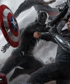 Take A Closer Look At BLACK PANTHER's Awesome Costume In Captain America: Civil War