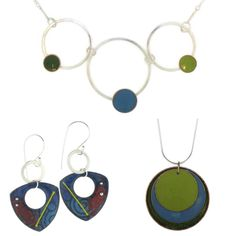 Lanni is an Enamelist who has been creating with enamels since 2008. She fell in love with the brilliant colors that the glass powders have to offer. She has concentrated her efforts on perfecting a sifting technique. This technique allows her to layer enamel powders in opaque and transparent colors to achieve the results that are pleasing to the eye.    Lanni designs and handcrafts her jewelry in her studio in Armonk. She has a Bachelors degree in Fine Arts from Syracuse University. Her…