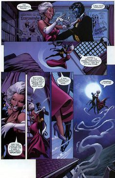 Storm and Nightcrawler
