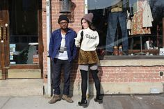Tour Diary—Vintage Shopping with Wardell in Brooklyn Vintage Shops, Brooklyn, Fabrics, Vintage Fashion, Hipster, Tours, My Style, Girls, Shopping