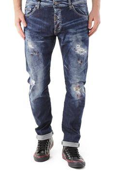 Jeans Uomo Absolut Joy (VI-P2567) colore Blu
