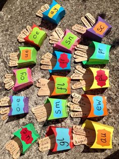 Phase 2 Phonics Primary Resources - Twinkl Phonics scheme of work - Interesting idea for phonics! Hunt for lollipop stick 'chips' in tray and put into the right bo - Primary Teaching, Teaching Phonics, Preschool Learning Activities, Teaching Aids, Primary Resources, Phonics Games Year 1, Jolly Phonics Activities, How To Teach Phonics, Word Family Activities