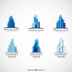 Construction company logo templates