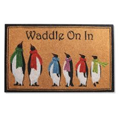 Penguin Coco Entry Mat - i got this from my dear sweet friend