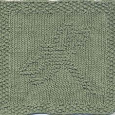 Dragonfly Knit Dishcloth Pattern