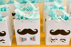 Manualidades para Baby Shower bolsas de regalo