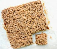 These NO bake date squares are made without any added sugar or flour! They are much healthier, tastier and better than traditional date squares!