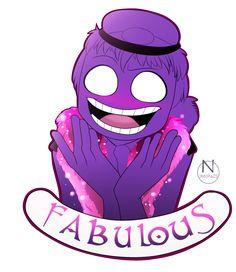 Purple Guy I'm FABULOUS by N-SteiSha25 on DeviantArt