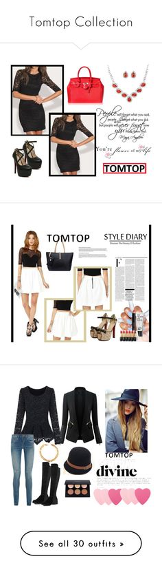 """Tomtop Collection"" by nejrasehicc ❤ liked on Polyvore featuring vintage, tomtop, Nicki Minaj, Bobbi Brown Cosmetics, L'Oréal Paris, Chicsense, Yves Saint Laurent, Sephora Collection, Gimme Clips and Li Ning"
