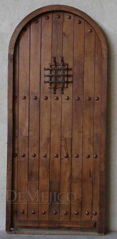 Puerta Santos, Spanish Door - Demejico