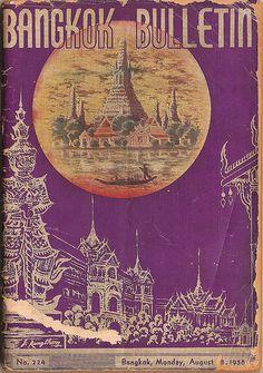 Bangkok City Guide 1958, via stevechasmar