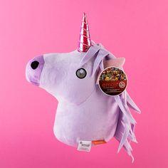 Unicorn Emoji Cushion | GettingPersonal.co.uk