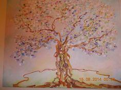 Oleo sobre lienzo de 1 m x 1.20 Abstracto impresionista