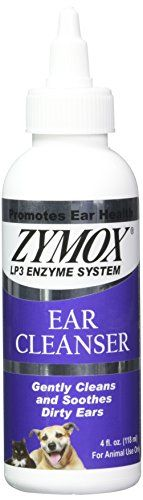 Dog Ear Care - Zymox Ear Cleanser With BioActive Enzymes 4 oz -- Read more at the image link. (This is an Amazon affiliate link)