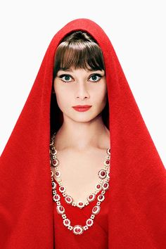 Audrey Hepburn photographed by Richard Avedon for Harper's Bazaar, October 1961