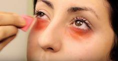 Truque do batom vermelho para disfarçar as olheiras: aprenda a fazer