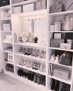 Closet Goals😍 , , , , by Luxe Decor💕 Sala Glam, Closet Bedroom, Bedroom Decor, Vanity Room, Closet Vanity, Glam Room, Luxury Closet, Closet Designs, Dream Rooms