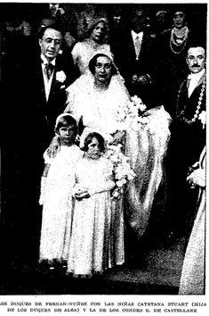María de las Mercedes Eufrasina Anchorena Uriburu + Manuel Falcó Álvarez de Toledo duke of Fernán-Núñez