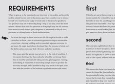 Using Type: Using Hierarchy. #typography #design