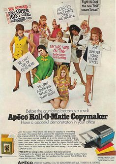 1969 ad for office copier