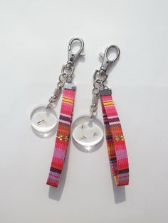 Annys workshop,Handmade keychain, hard plastic keychain, Pressed flowers keychain, dandelions keychain (1set) 01