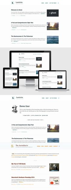 Laminim — Ghost Theme for Bloggers. Ghost Themes. $27.00