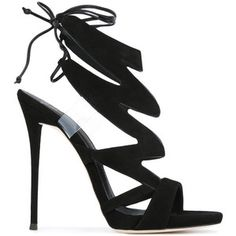 Giuseppe Zanotti Design lightening bolt sandals