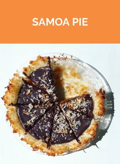 Girl Scout Cookie Samoa Pie | Get the recipe for Samoa Pie.