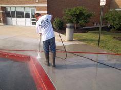 Concrete Sidewalk Power Washing Central PA 17111 - Blogs - Pressure Washing Institute