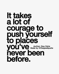 Courage=Success.