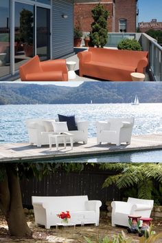 Outdoor Sofa, Outdoor Furniture, Outdoor Decor, Club Sofa, Bubbles, Relax, Table Decorations, Design, Home Decor