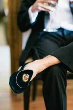 Groom shoes   Photo: James Christianson
