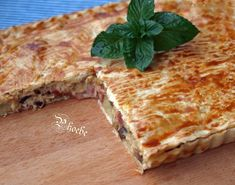 Greek Recipes, Smell Good, Turkey, Food And Drink, Sweets, Bread, Cooking, Savoury Pies, Pastries