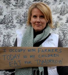 Join us and stand up for the small family farmer during World Food Day! www.fooddemocracynow.org
