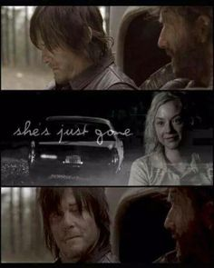 She's just gone. #twd