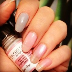 Perfect Formula Light Grey Gel Coat is the perfect neutral for your wedding day.