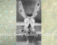 Whimsical Etsy Shop Banners and Icons - OOAK by GothicDollyGallery Etsy Vintage, Banners, Whimsical, Unique Jewelry, Gothic, Handmade Gifts, Etsy Seller, Icons, Etsy Shop