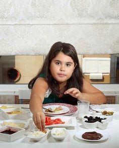 Petit Déjeuner d'Oyku Ozarslan, 9 ans, Istanbul, Turquie