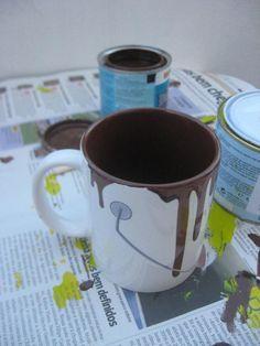 Academic work | My mug of hot chocolate by Rita Silva, via Behance